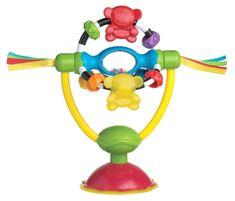 Playgro Obrotowa grzechotka z przyssawką