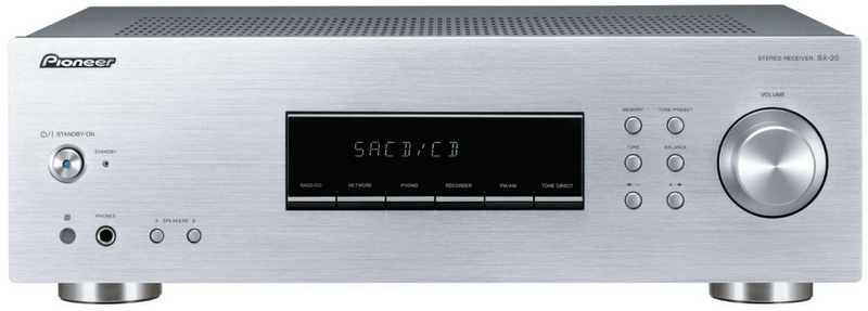Pioneer SX-20 stříbrná - II. jakost