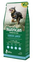 Nutrican Sucha karma dla psa Junior Large 15 kg