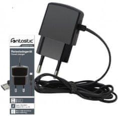 Fontastic Essential MicroUSB hálózati töltő, Fekete