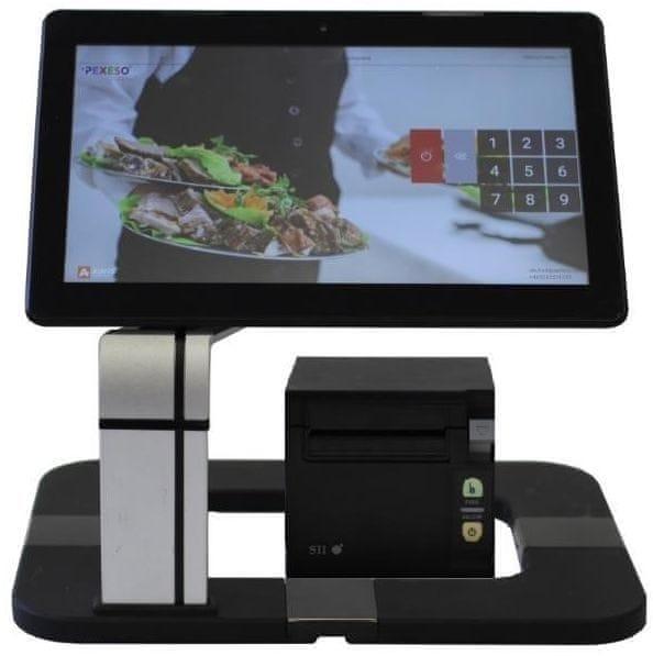 """EET Cube dotyková pokladna 13,3"""" vč. prodejního SW Pexeso + USB pokladní tiskárny"""