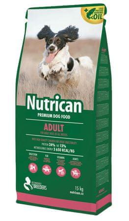 Nutrican hrana za pse Adult, 15 kg