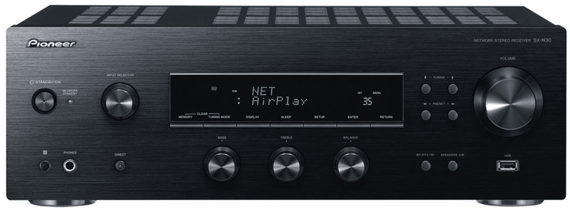 Pioneer SX-N30-K, černá
