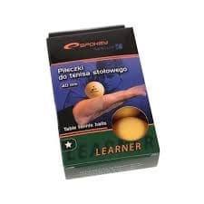 Spokey Lerner narancssárga ping-pong labda, 6 db