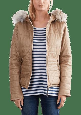 s.Oliver női kabát L barna