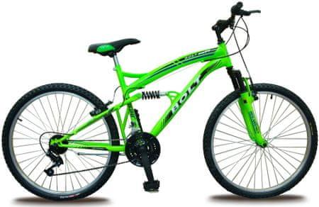 """Bolt 24"""" celoodpružené zelené"""
