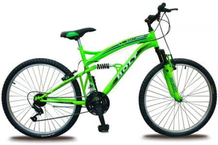 """Bolt 26"""" celoodpružené zelené"""