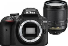 Nikon digitalni DSLR fotoaparat D3400 18-105VR