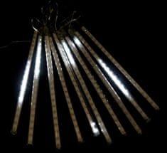 Seizis 10 LED kapajících trubic, 30 cm, venkovní bílé