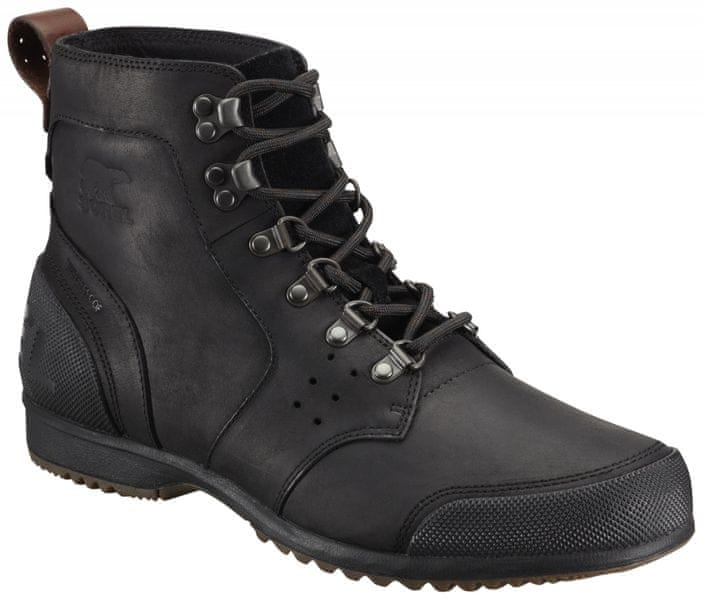 Sorel Ankeny Mid Hiker Black/Tobacco 45