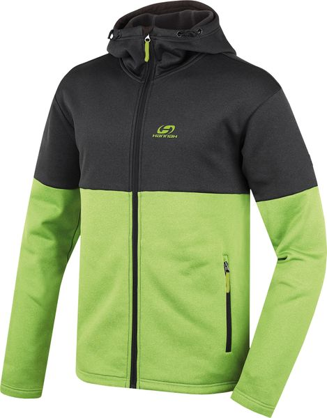 Hannah Darko Anthracite/lime green L