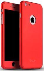 iPaky plastový kryt, 360, iPhone 6Plus/6sPlus, červená