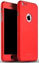 iPaky plastový kryt, 360, iPhone 6/6s, červená