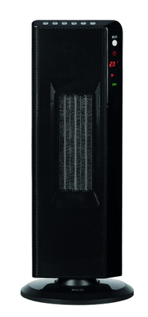 ECG termowentylator KT 200 DT Black