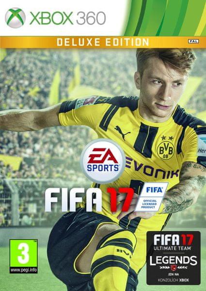 EA Sports Fifa 17 Deluxe edition / Xbox 360