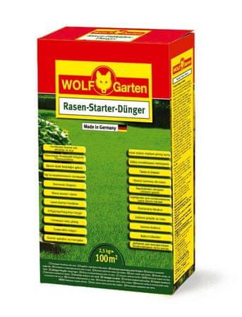 Wolf - Garten Štartovacie hnojivo na trávnik LY-N 100