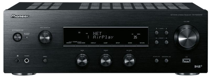 Pioneer SX-N30DAB-K, černá