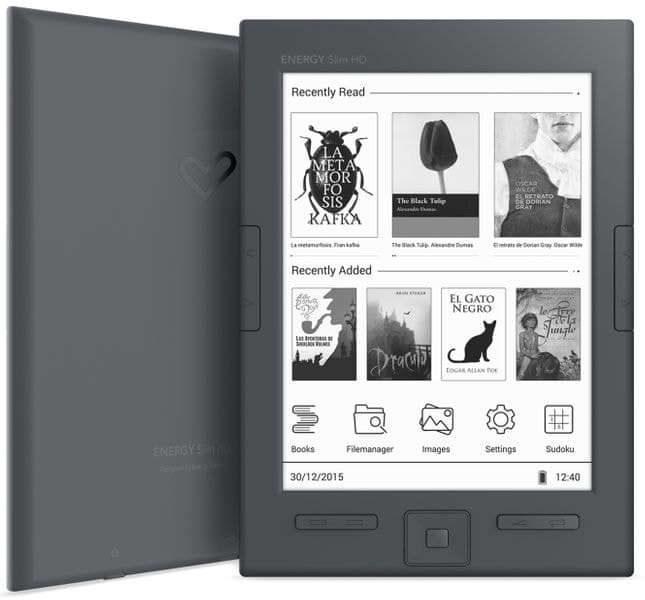 Energy Sistem eReader Slim HD