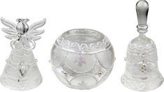 Seizis Ozdoby szklane świąteczne 3 sztuki