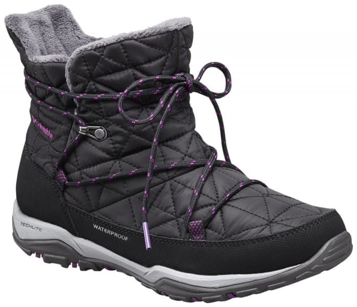 Columbia Loveland Shorty Omni-Heat Black/Bright Plum 6.5 (37,5)