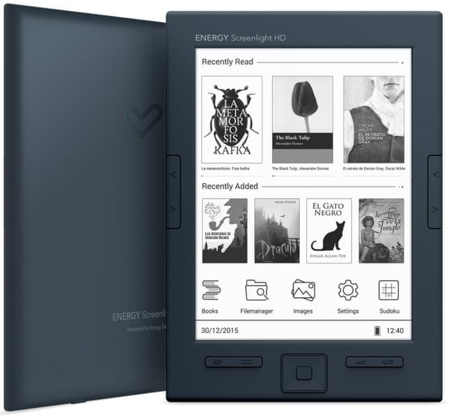 Energy Sistem eReader Screenlight HD - II. jakost