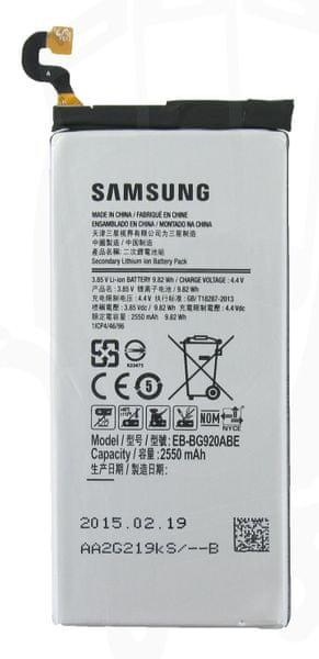 Samsung baterie, EB-BG920ABE, Li-Ion, 2550mAh, Bulk