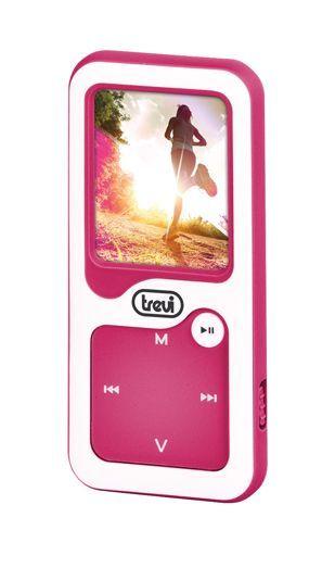 Trevi MPV 1780 WH + 8 GB karta, bílá/růžová