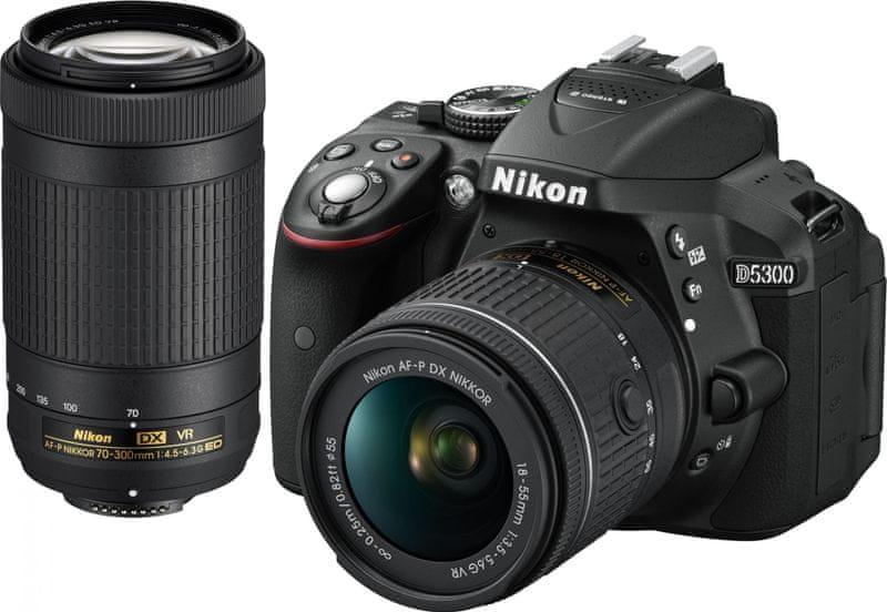 Nikon D5500 + 18-55 AF-P VR + 70-300 VR