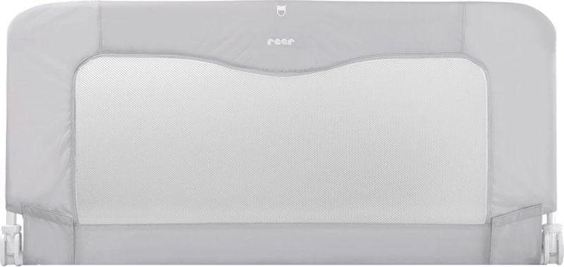 Reer Zábrana na postel 150cm, grey/white