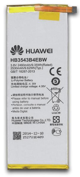 Huawei baterie, HB3543B4EBW, 2460mAh, Li-Pol, BULK