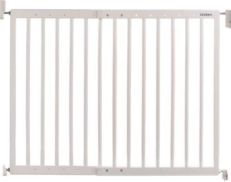 Lindam varnostna ograja, široka drsna, bela