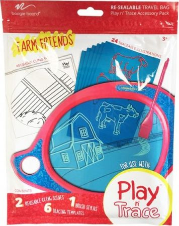 Boogie Board Play and Trace accessory pack - Farm Friends