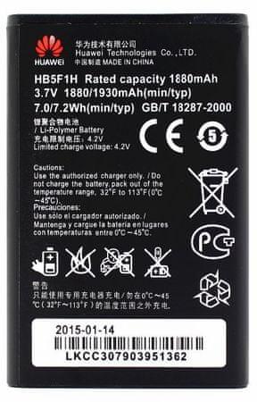 Huawei baterie, HB5F1H, 1880mAh, Li-Pol, BULK