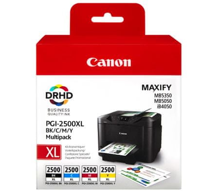 Canon komplet kartiš PGI-2500XL MultiPack (B, C, M, Y) + kalkulator