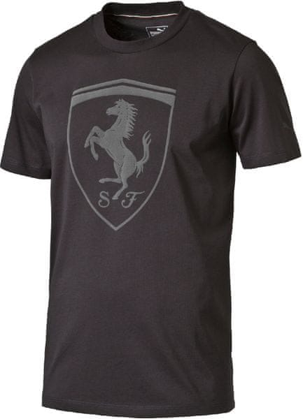 Puma Ferrari Big Shield Tee Moonless Night XL