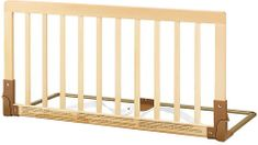 BabyDan zábrana k posteli drevená prírodná
