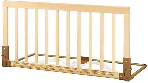 BabyDan Zábrana k posteli dřevěná přírodní