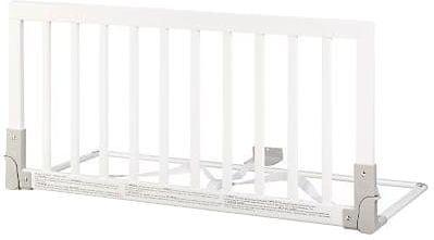 BabyDan Zábrana k posteli dřevěná bílá 45x90cm
