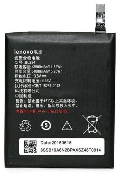 Lenovo baterie, BL234, 4000mAh, Li-Pol, BULK