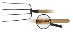 J.A.D. TOOLS MacHook vidle 4 hroty 80020