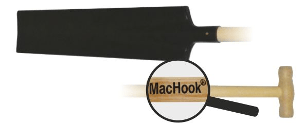 J.A.D. TOOLS MacHook rýč štychar černý 80028