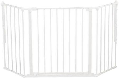 BabyDan varnostna ograja New Flex M, bela
