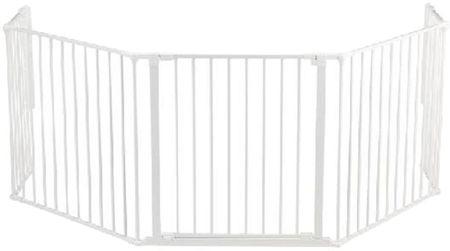 BabyDan Priestorová zábrana New Flex XL 90-270 cm biela