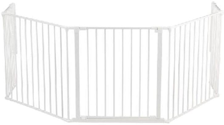 BabyDan Prostorová zábrana New Flex XL 90-270 cm bílá