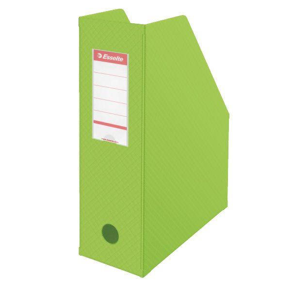 Stojan na časopisy 10 cm Economy zelený