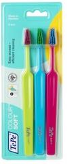 Tepe Colour Soft 3-pack Zubní kartáčky
