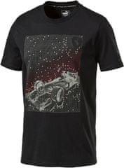 Puma moška majica Ferrari Graphic Tee, črna