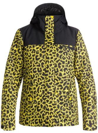 Roxy Jetty Block J Snowboardjacket Hattie Stewart Zigzag Leopard S
