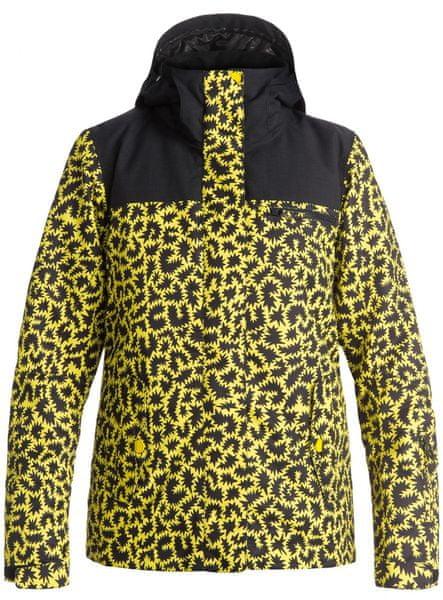 Roxy Jetty Block J Snowboardjacket Hattie Stewart Zigzag Leopard M