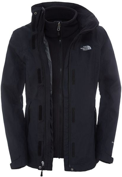 The North Face W Evolution II Triclimate Jacket Tnf black/Tnf black S